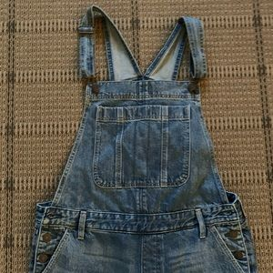 Abercrombie and Fitch Boyfriend Overalls
